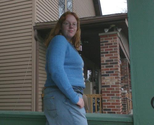Joyuna Mrs. Darcy sweater cardigan NaKniSweMo mal