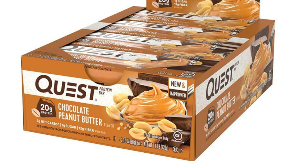 Quest Gluten Free Protein Bars 12-Pack $12.51 Shipped ...