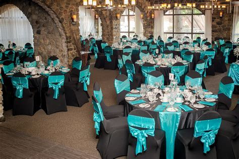 teal black and white wedding ideas   Google Search