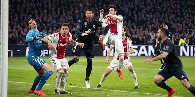 Hasil Pertandingan Ajax Amsterdam vs Real Madrid: Skor 1-2