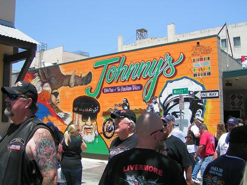 Johnny's mural