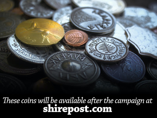 Licensed Coins from The Lord of the Rings ™ & The Hobbit ™ by Shire Post Mint — Kickstarter