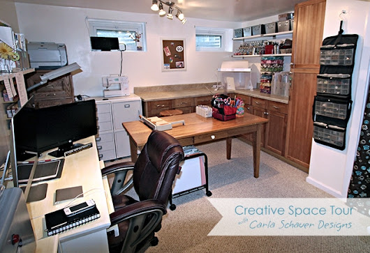 Creative Studio Tour | Carla Schauer Designs