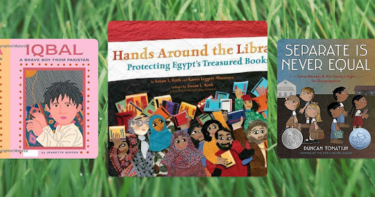Picture Book 10 for 10: My top 10 stories about Fighting for the Right to Learn!