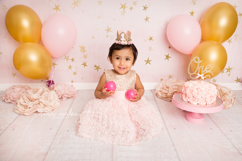 Baby Photography Birmingham 1st Birthday Session