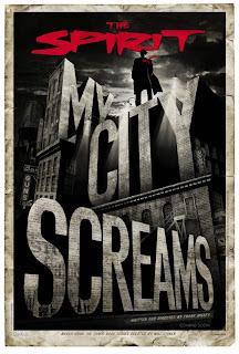 The Spirit Teaser Movie Poster - My City Screams