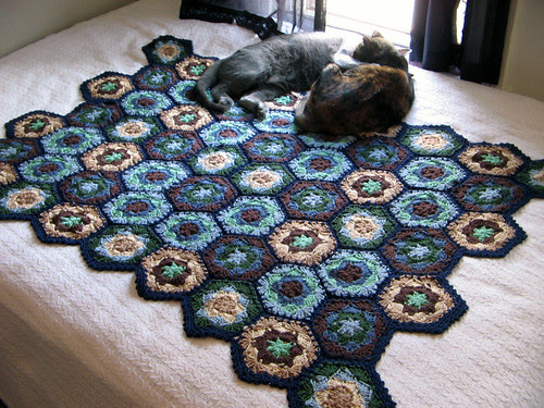 Graphic Granny Afghan