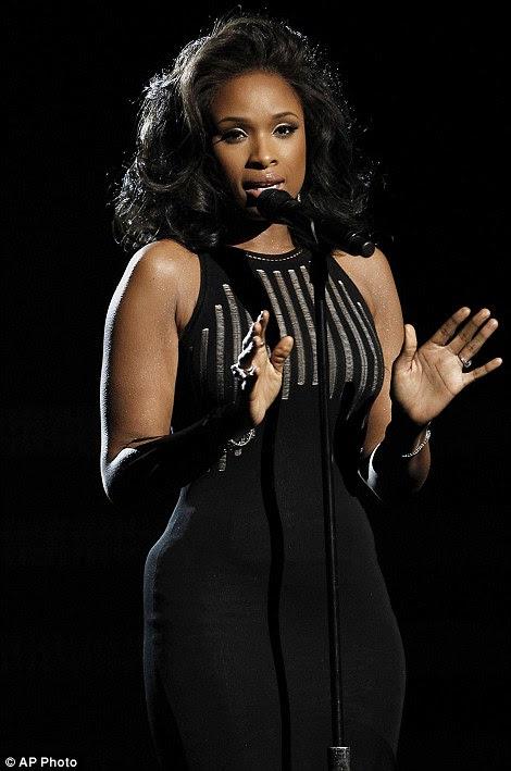 Um verdadeiro profissional: O American Idol alum parecia ser o desempenho canalização Houston em 1992 Grammy