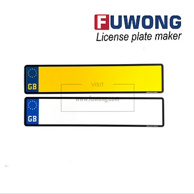 UK number plates & machine solution (United Kingdom/GB) - Fuwong | License plate maker, number plate machine