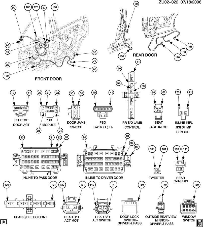 2008 gmc acadia trailer wiring harness  panasonic head unit