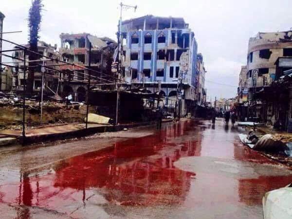 """Il  sangue siriano è  sulle tue mani, Europa.  E """"Francesco""""?"""