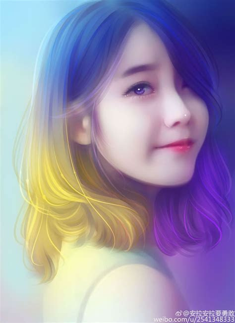 iu fan art  chen aka iu pinterest