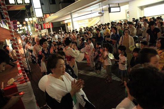 長原納涼盆踊り大会