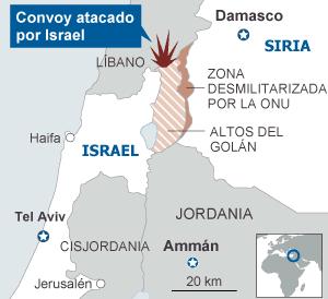 Resultado de imagen de Israel, inquieto por respuesta de Irán y Rusia a ataque a Siria