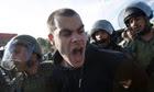 Israeli activist Jonathan Pollak