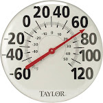 Taylor 681 18 inch Metal Thermometer