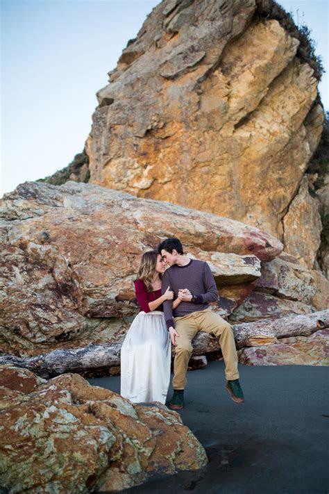 Scenic Oregon coast engagement shoot   100 Layer Cake