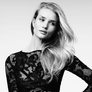 Rosie Huntington-Whiteley In 5 Sexy Black Dresses For Vogue Turkey