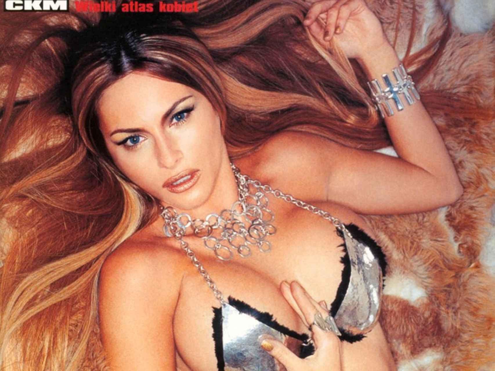 Melania fue portada de la revista polaca CKM.