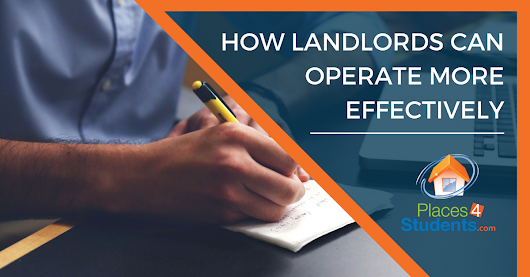 How Landlords Can Operate More Effectively