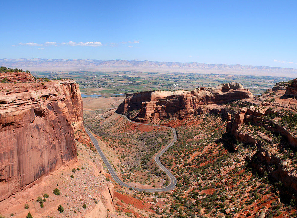 Grand Junction, CO : Overlooking Grand Junction from ...