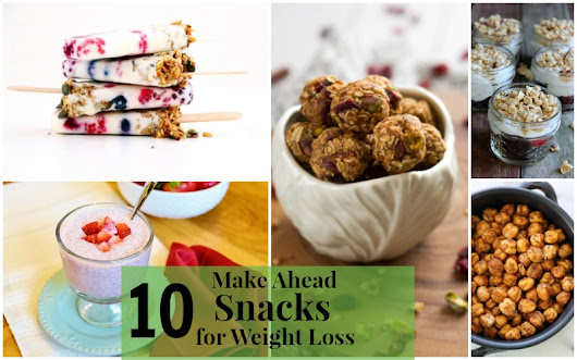 10 Delicious Make Ahead Snacks for Weight Loss - Forks 'n' Flip Flops