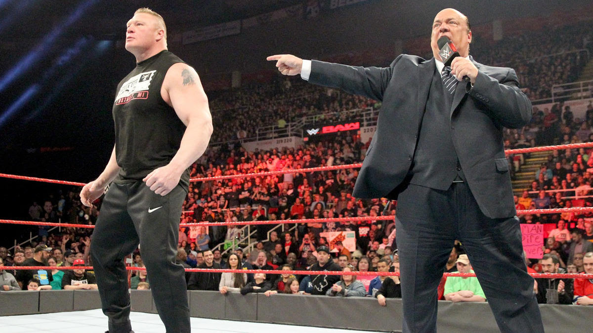 Heyman says his client will walk out of WrestleMania with the Universal Championship.