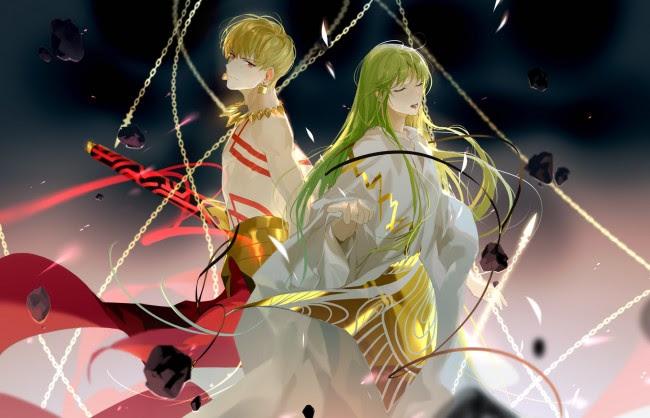 Wallpaper Gilgamesh Fate Grand Order Lancer Chains