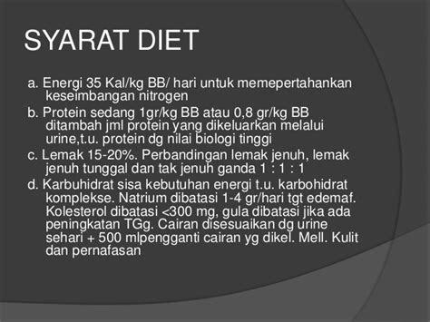 diet gangguan sistem perkemihan
