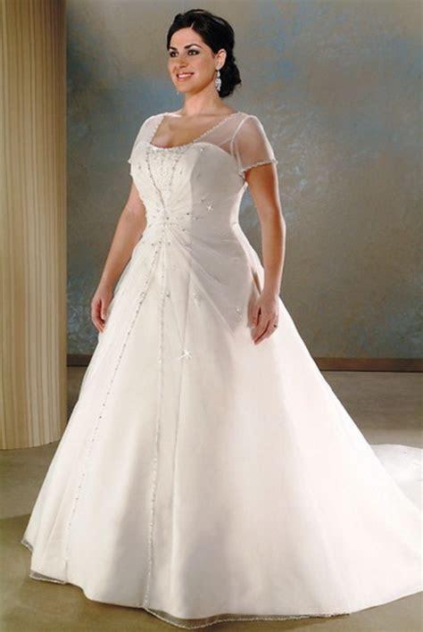 Wedding dresses for full figured women