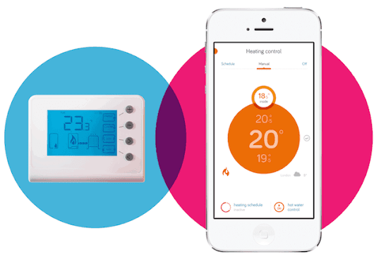 Hive thermostat can now respond to a home owner's location similar to Tado - Mighty Gadget Blog: UK Technology News and Reviews