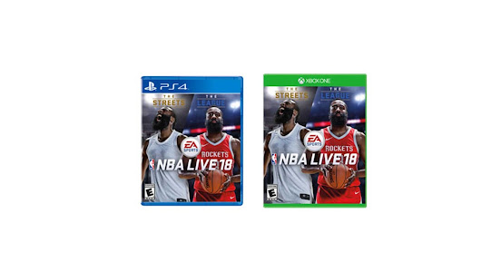 NBA Live 18 by EA Sports for PS4 and Xbox One for $39.99 at Gamestop