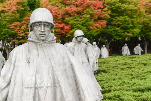 Honor Flight Maine Gives Veteran Chance to See Korean War Memorial