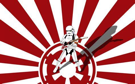 star wars stormtroopers guitars galactic empire