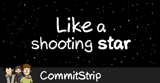 Like a shooting star