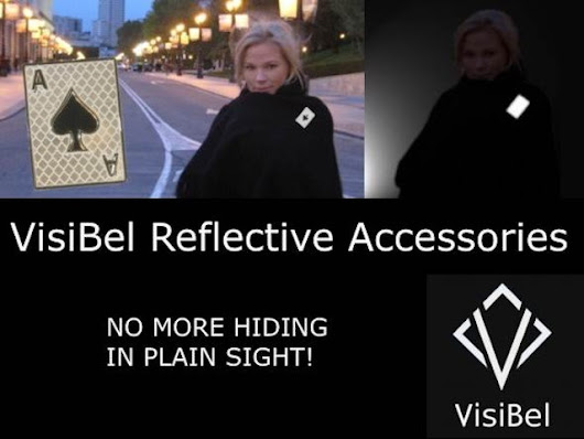 VisiBel Reflective Accessories - safety jewelry by Visible Brands, LLC for VisiBel — Kickstarter