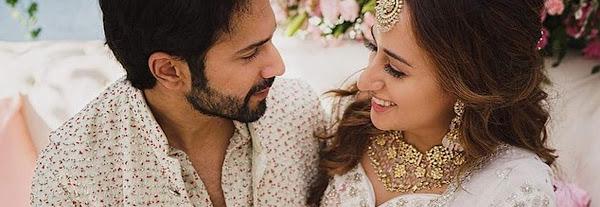 Priceless pics from Varun -Natasha's wedding