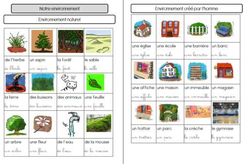Projet transdisciplinaire : l'environnement
