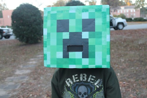 Middle School Cool...final costume of his childhood...sniff, sniff.