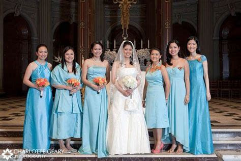 139 best images about Wedding   Blue & Orange on Pinterest