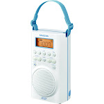Sangean H205 AM-FM-Weather Alert Waterproof Shower Radio