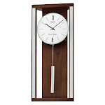 Seiko Wall Clock with Pendulum and Dual Chimes