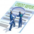 Does my credit score consider information not on my credit report?