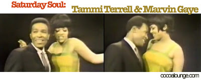 Tammi Terrell and Marvin Gaye