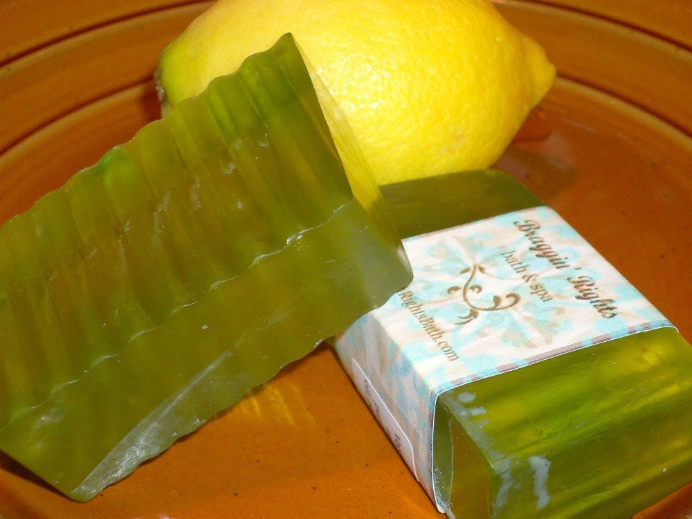 Lemon Eucalyptus Honey Soap