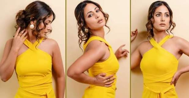 The beautiful, Hina Khan shines like a star wearing the best ever shade of yellow