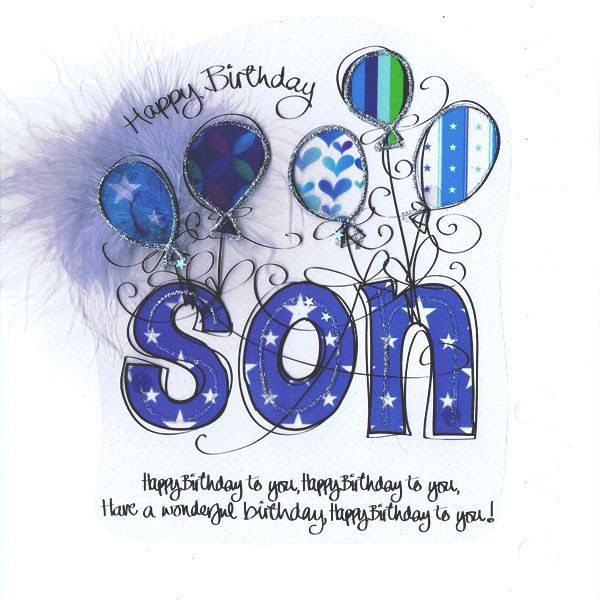 Happy Birthday Son Clip Art Library
