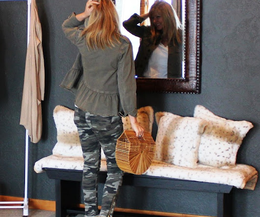 Camo For Spring? & Style Wise Link Up