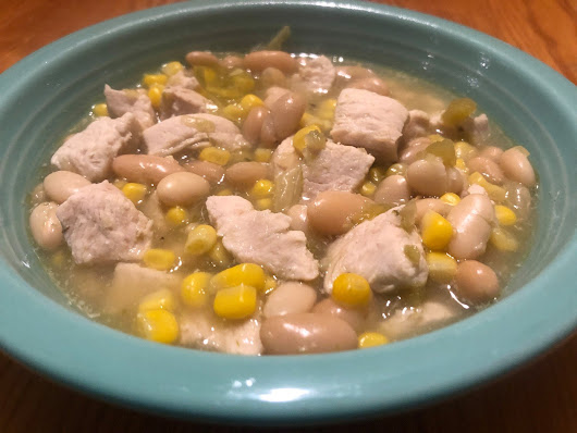 White Chicken Chili in the Instant Pot