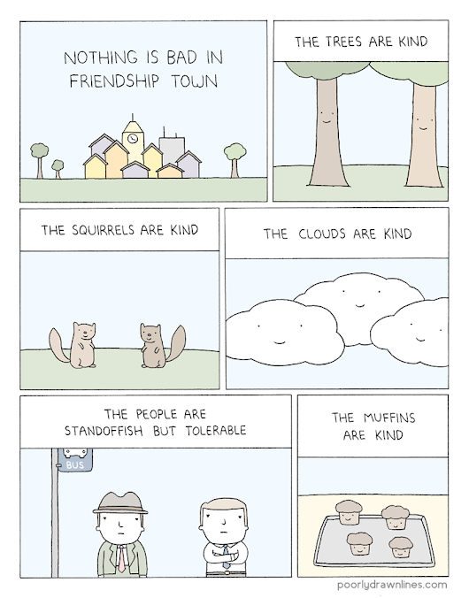 Poorly Drawn Lines – Friendship Town